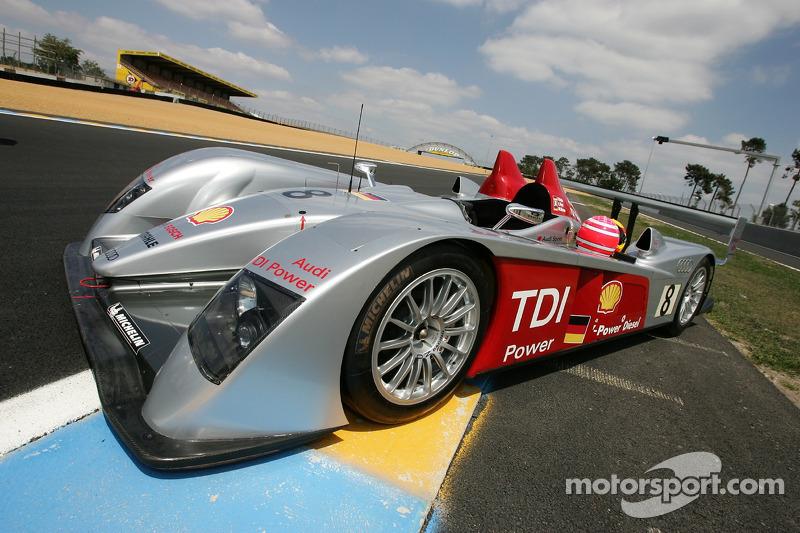 Séance photos de Audi Sport Team Joest: la Audi Sport Team Joest Audi R10