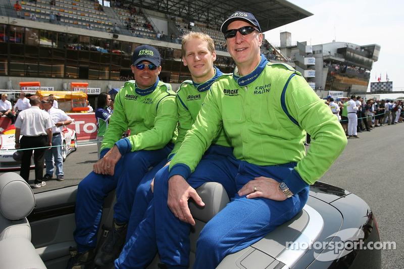 Nic Jonsson, Jorg Bergmeister et Tracy Krohn