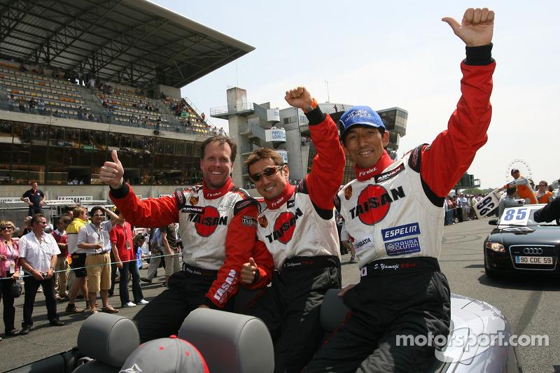 Philip Collin, Kazuyuki Nishizawa et Shinichi Yamaji
