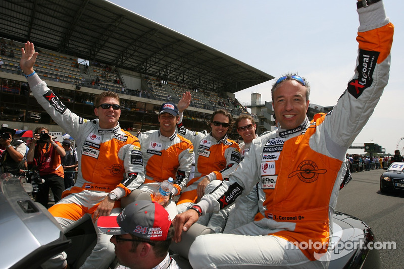 Jeroen Bleekemolen, Mike Hezemans, Jonny Kane, Tom Coronel, Donny Crevels et Peter Dumbreck