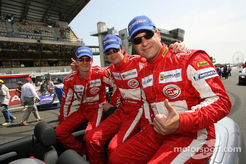 Tim Mullen, Andrew Kirkaldy et Chris Niarchos