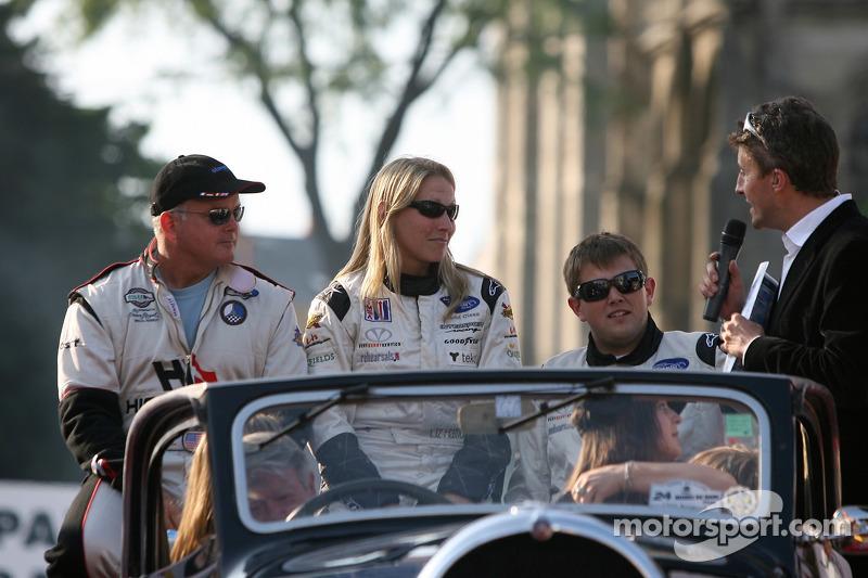 Duncan Dayton, Liz Halliday et Clint Field