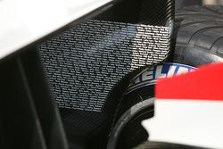 Detail of the Honda