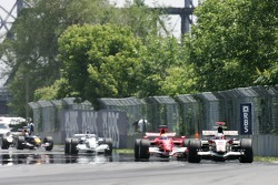 Formation lap: Rubens Barrichello