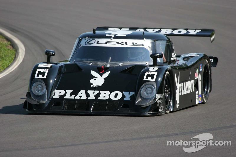 #6 Playboy Racing/ Mears-Lexus/Riley Lexus Riley: Mike Borkowski