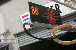 #86 Spyker Squadron Spyker C-8 Spyder: Jeroen Bleekemolen, Mike Hezemans, Jonny Kane