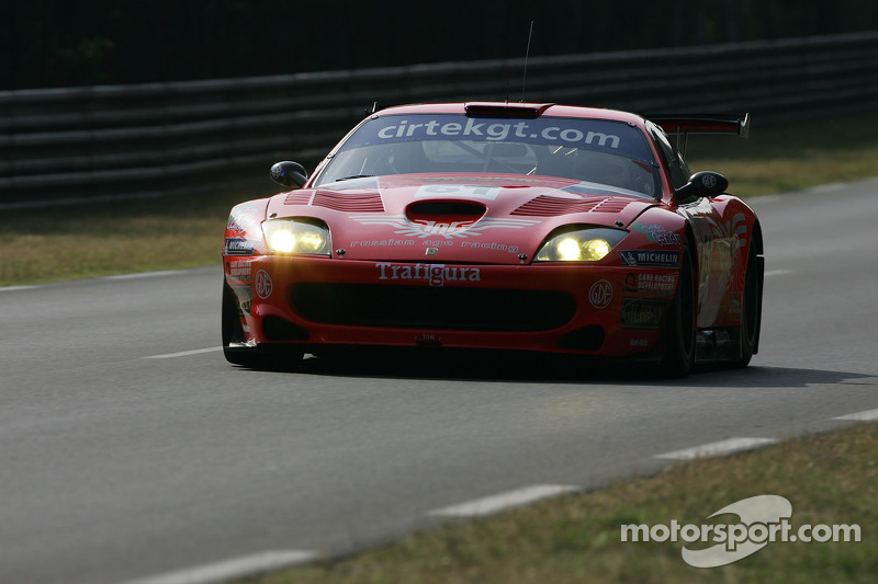 #61 Cirtek Motorsport Ferrari 550 Maranello: Christian Vann, Nigel Smith, Tim Sugden