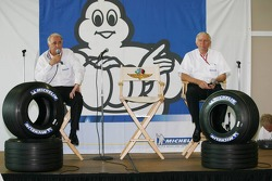 Michelin press conference: Frederic Henry Biabaud, Director of Michelin Motorsport competition and Nick Shorrock, Director of Michelin F1 Activities