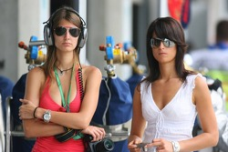 Girlfriend of Tiago Monteiro