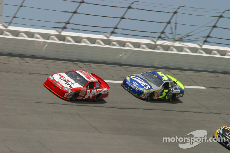 Paul Tracy et Kyle Busch