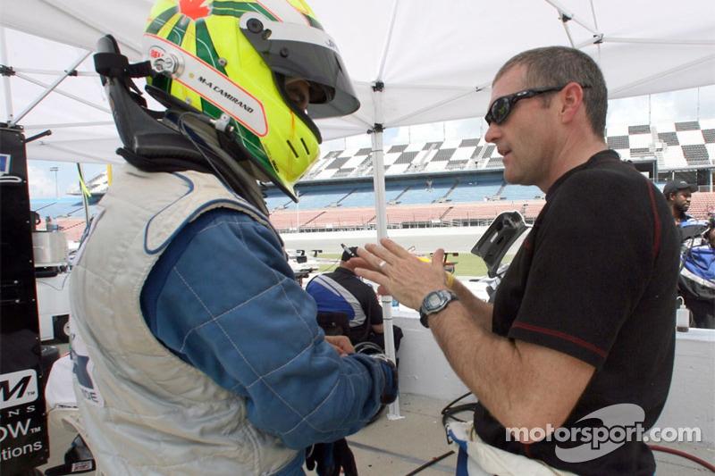 Marc-Antoine Camirand et Bobby Labonte