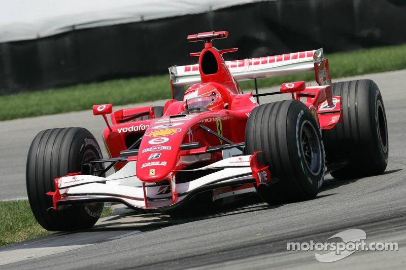 2006 Amerika GP - Ferrari 248 F1