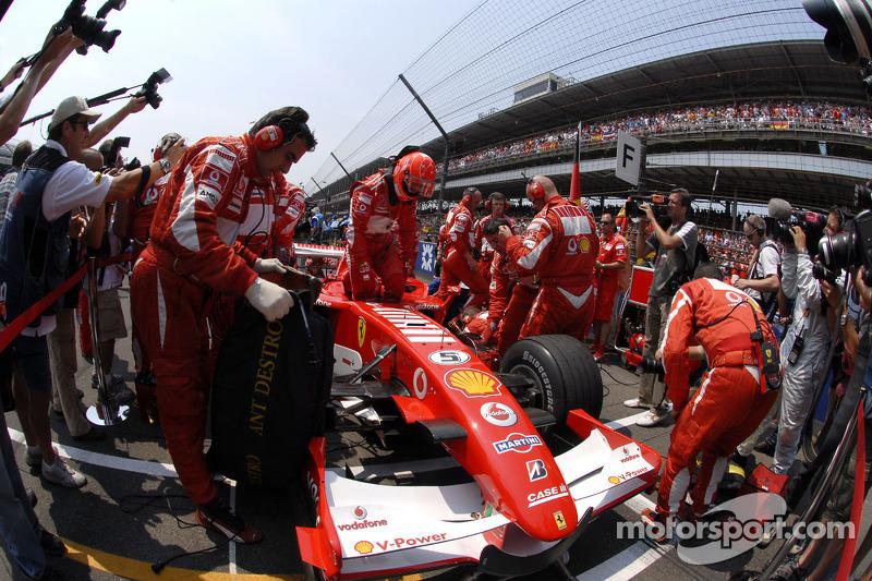 2006 United States GP, Ferrari 248 F1