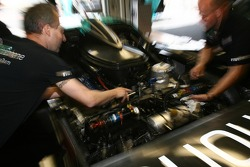 Vitaphone Racing team members at work