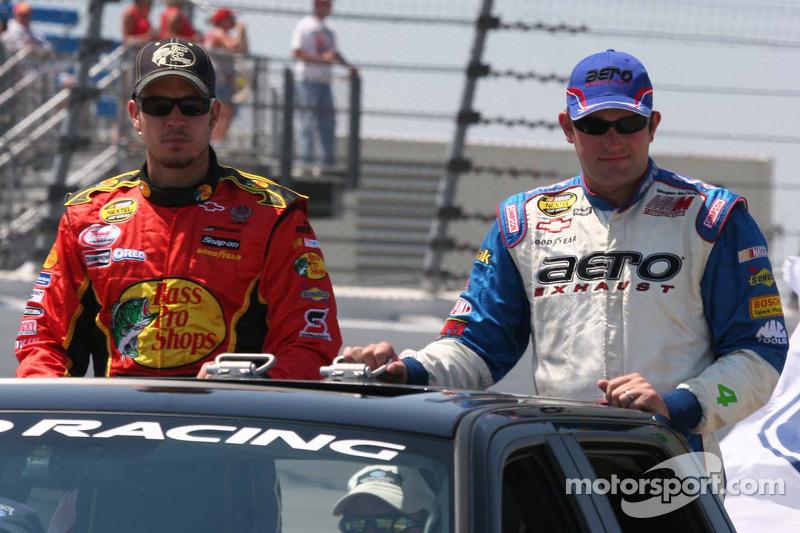 Martin Truex Jr. et Scott Wimmer