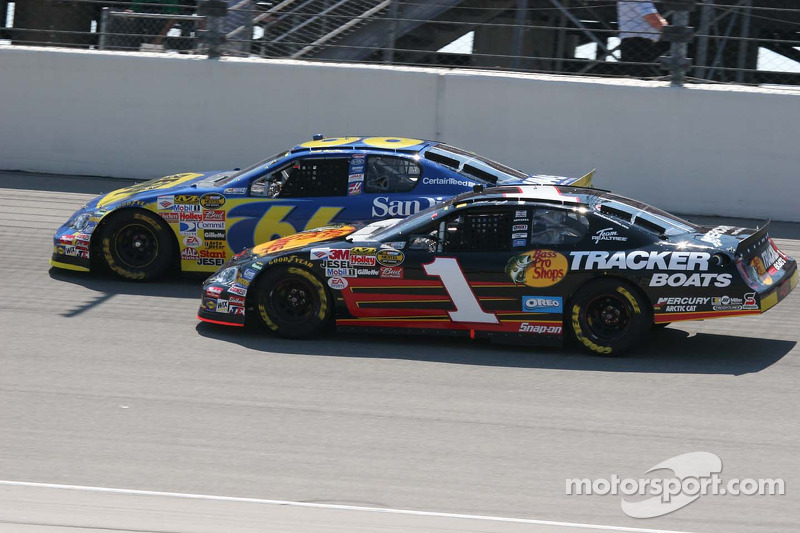 Jeff Green et Martin Truex Jr.