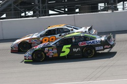 Dale Jarrett and Kyle Busch
