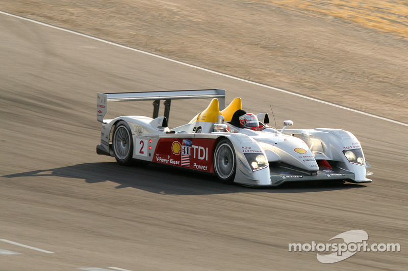 #2 Audi Sport North America Audi R10 TDI: Rinaldo Capello, Allan McNish
