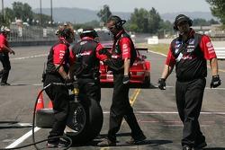 Défi de l'équipe de stand : #21 Team PTG BMW E46 M3: Bill Auberlen, Joey Hand