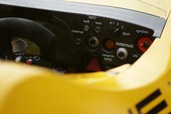 Detail of the Penske Motorsports Porsche RS Spyder panel board