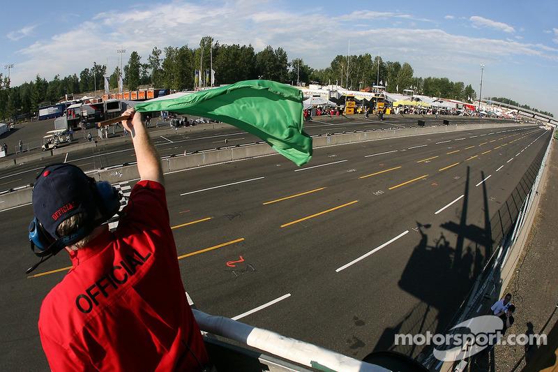 Le drapeau vert est baissé