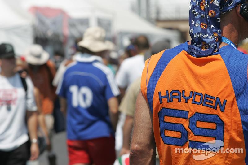 Nicky Hayden fan