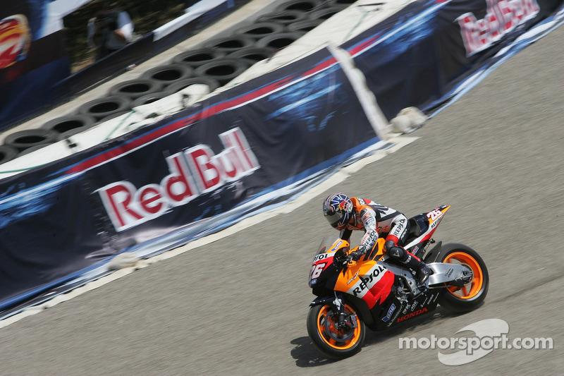 Ausritt: Dani Pedrosa, Repsol Honda