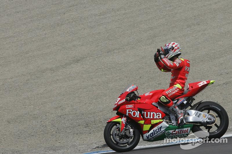 3. Marco Melandri, Gresini Honda