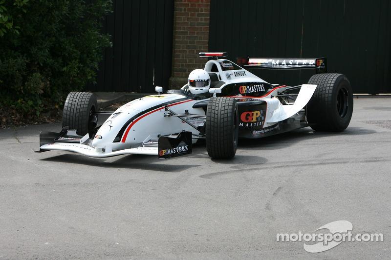 GP Masters Cosworth: René Arnoux