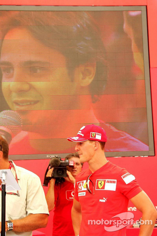 Evénement DJ de Vodafone Racing: Michael Schumacher