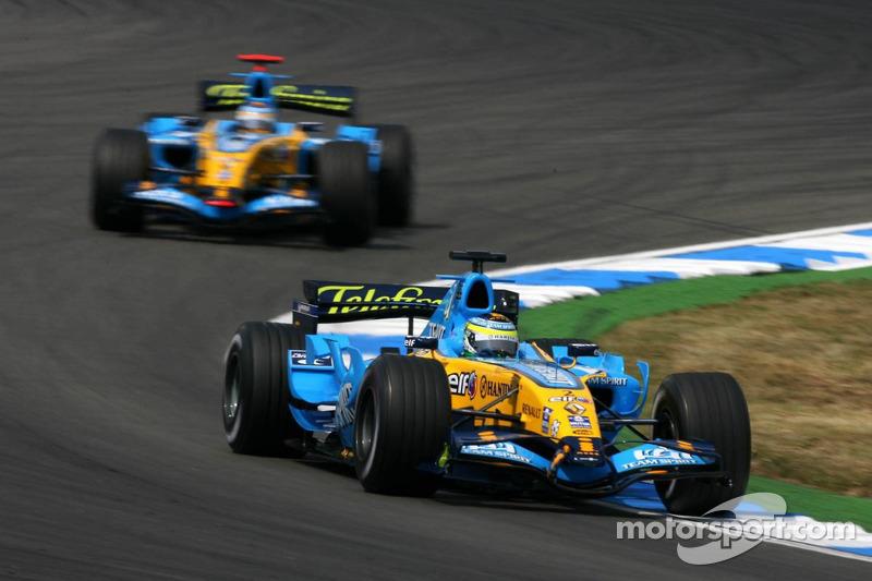 Giancarlo Fisichella devance Fernando Alonso