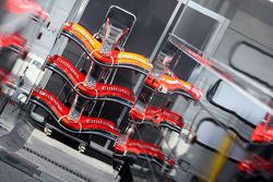 McLaren Mercedes front wings