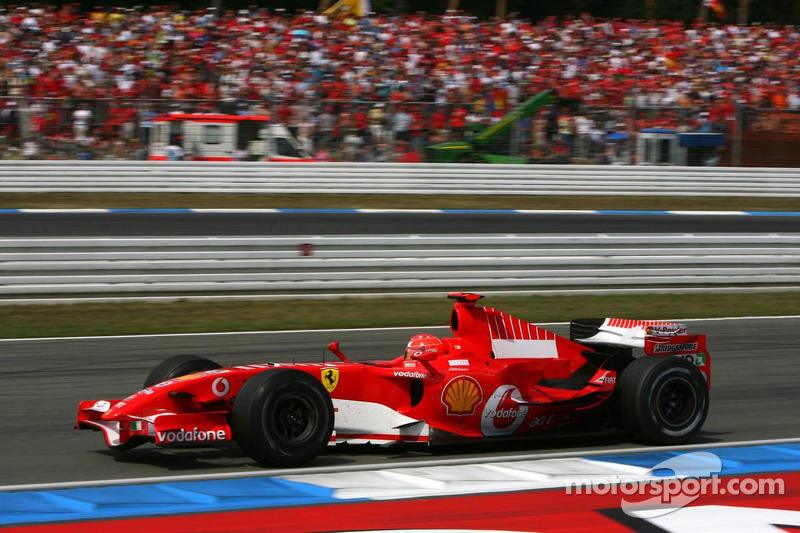 2006 - Hockenheim: Michael Schumacher, Ferrari 248 F1