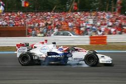 Jacques Villeneuve and Takuma Sato