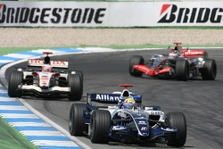 Mark Webber and Rubens Barrichello