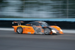 #60 Michael Shank Racing Lexus Riley: Oswaldo Negri, Mark Patterson