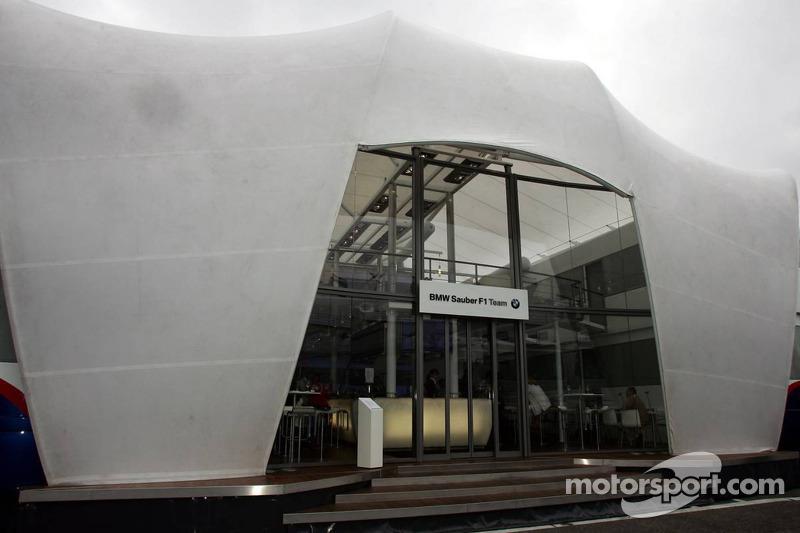 BMW Sauber F1 motorhome