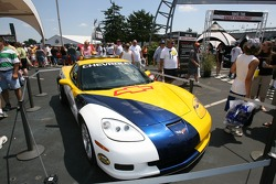 The 2006 Chevrolet Corvette Z06 pace car
