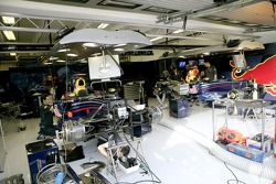Red Bull Racing garaje