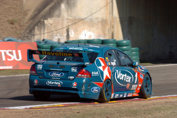 Russell Ingall under the bridge