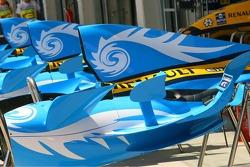 Renault F1 Team engine cover