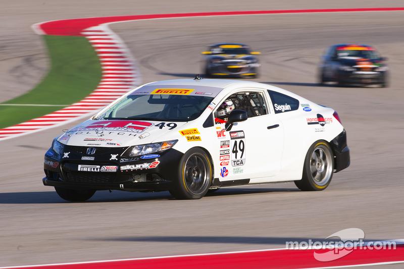 #49 Brта en Peterson Racing Honda Civic Si: Patrick Seguin