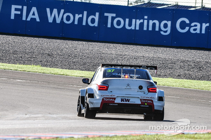 Jose Maria Lopez, Citroën C-Elysée WTCC, Citroën Total WTCC
