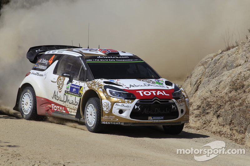 Медс Остберг та Йонас Ендерсон, Citroën DS3 WRC, Citroën World Rally Team