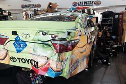 سيارة ديفيد راجان المحطمة، جو غيبس ريسينغ تويوتا
