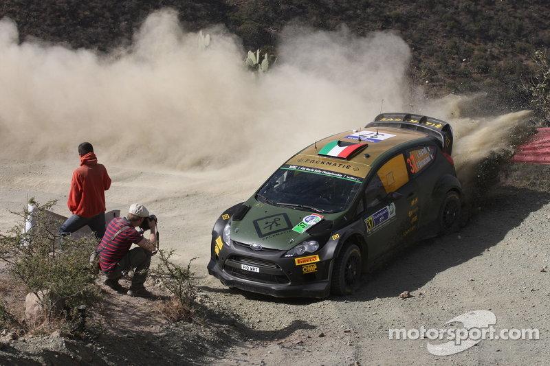 Lorenzo Bertelli und Giovanni Bernacchini, Ford Fiesta WRC
