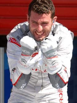 Race winner Jose Maria Lopez, Citroën Total WTCC Citroën C-Elysée WTCC