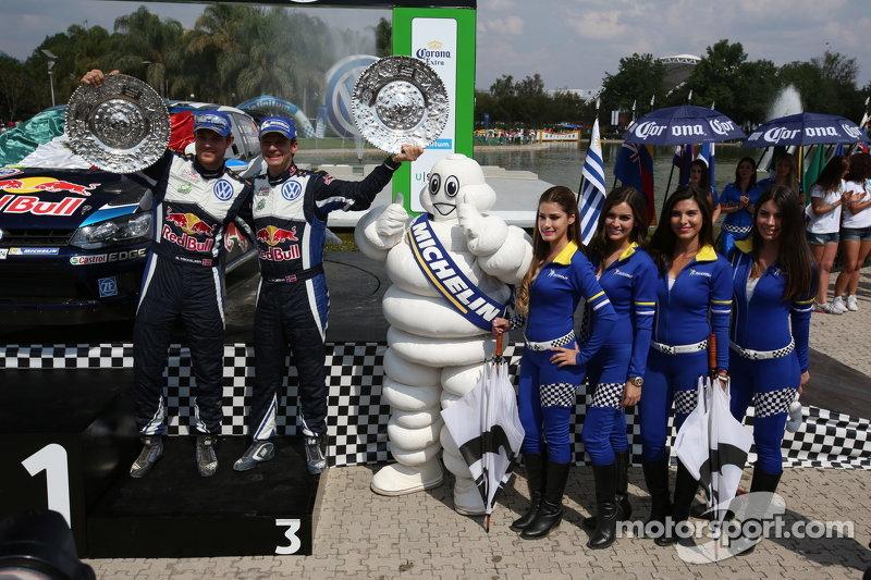 3. Andreas Mikkelsen und Ola Floene, Volkswagen Polo WRC, Volkswagen Motorsport