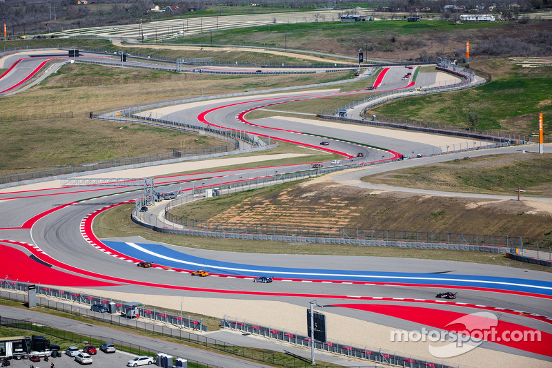 Circuit Americas tower view