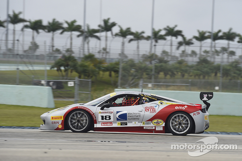 #18 Ferrari of San Francisco, Ferrari 458TPAM: James Weiland